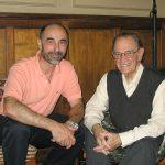 Visita con Carolina Vera a la casa de Rolando García, el 24/03/2006. Allí lo conocí y conversé con él por primera vez.